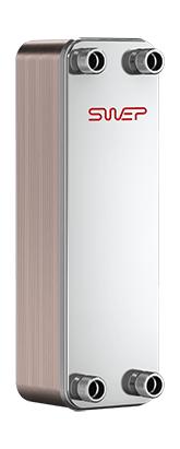 Паяный пластинчатый теплообменник SWEP AB5T Новосибирск латунная трубка для теплообменников