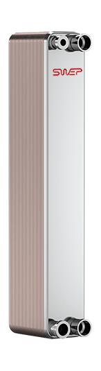 Паяный пластинчатый теплообменник SWEP AB15T Москва Кожухотрубный испаритель Alfa Laval DM2-416-2 Пушкин