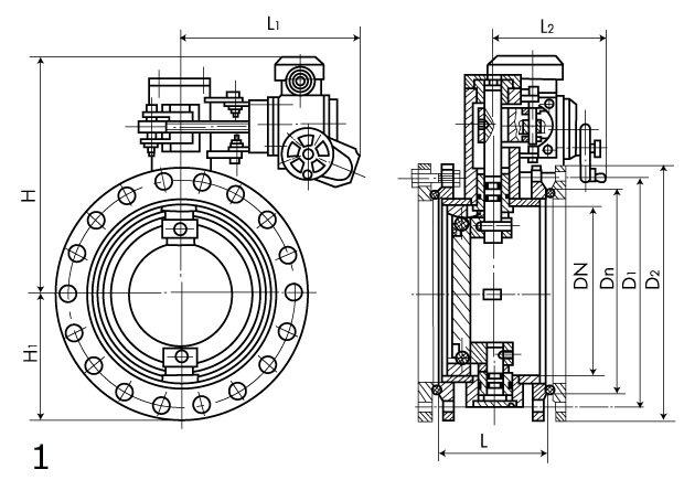 Затвор дисковый ИА 99017-1000-06